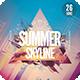 Summer Skyline Flyer - GraphicRiver Item for Sale