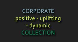 Corporate positive uplifting audio