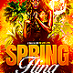 Spring Fling Flyer Template PSD - GraphicRiver Item for Sale