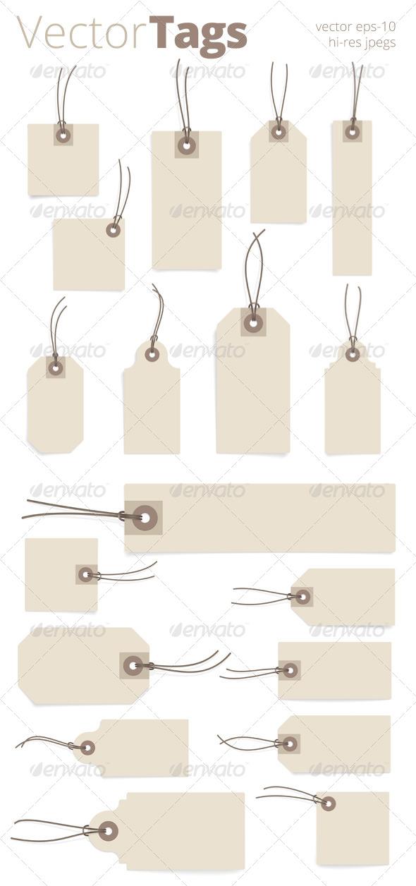 Paper Tag Set