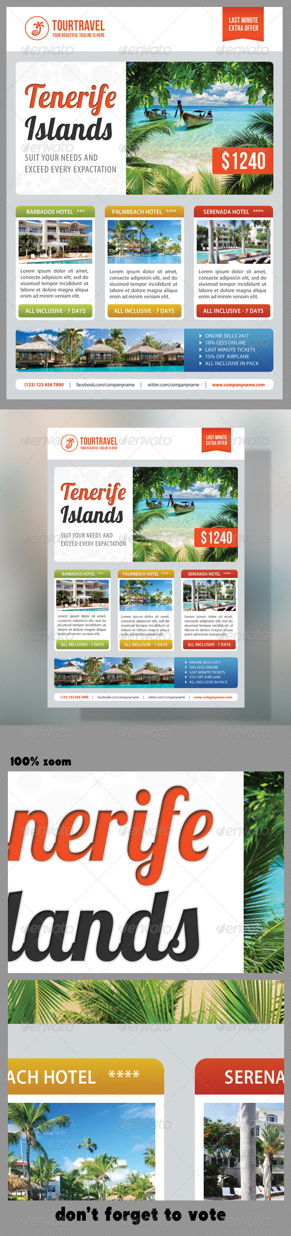 Travel Agency Corporate Flyer 08