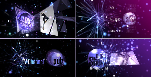 After Effects Project - VideoHive Broadcast Design-Entertainment TV Channel ...