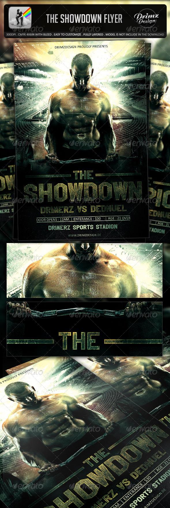 The Showdown Flyer
