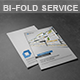 Bi-Fold Website Design Service Brochure - GraphicRiver Item for Sale