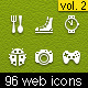 96 web icons - GraphicRiver Item for Sale