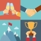 Business Success, Leadership and Win