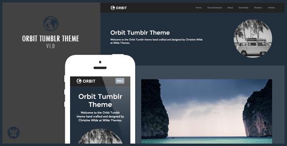 Orbit - A Responsive Tumblr Theme
