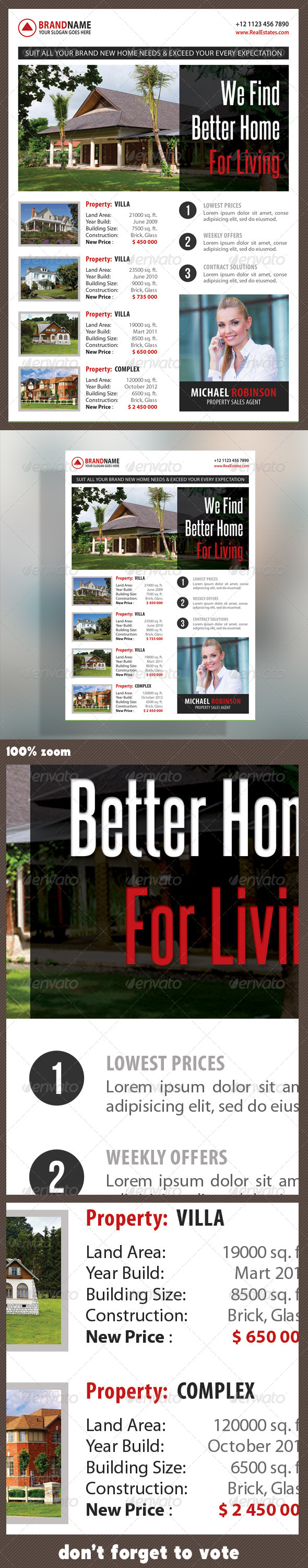 Real Estate Corporate Flyer 04 - Commerce Flyers