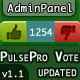 PulsePro Vote Component with Unvote Choice