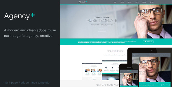AgencyPlus -  Multi-Purpose Muse Template