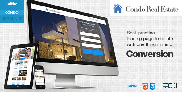 Condo Real Estate - Landing Page for Unbounce