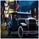 Retro classic Vehicle full scene market