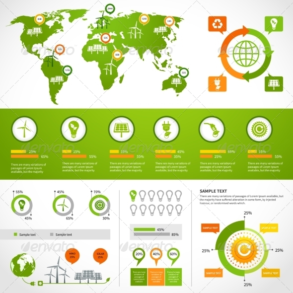 GraphicRiver Energy Infographics Layout Template 7281271