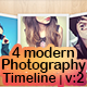 4 Modern Photography Timeline - Vol: 2 - GraphicRiver Item for Sale