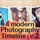 4 Modern Photography Timeline - Vol: 2 - GraphicRiver Item for Sale