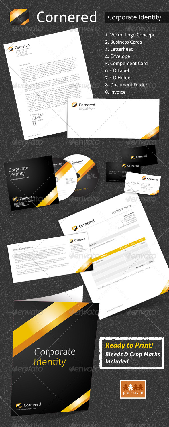 GraphicRiver Corporate Identity Cornered 759289