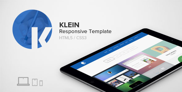 Klein - Responsive Parallax One Page Template