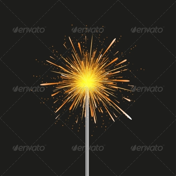 Sparkler modern Background
