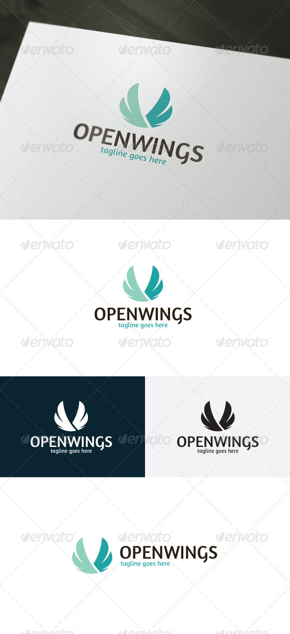 Open Wings Logo