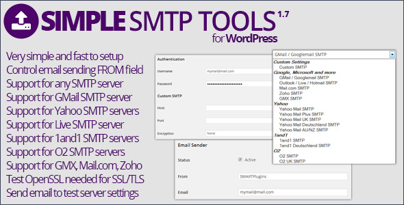 Simple SMTP Tools