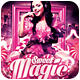Sweet Magic Party Flyer - GraphicRiver Item for Sale