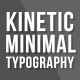Kinetic Minimal Typography - VideoHive Item for Sale
