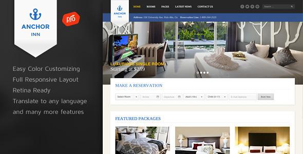 Anchor Inn - Hotel and Resort Theme - Travel Retail