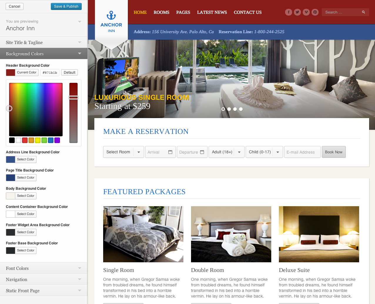 Anchor Inn - Hotel and Resort Theme