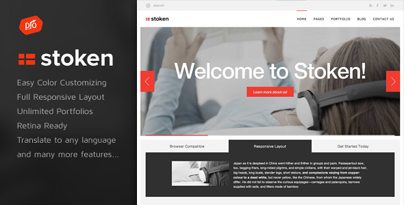 Stoken - Responsive WordPress Theme - Business Corporate