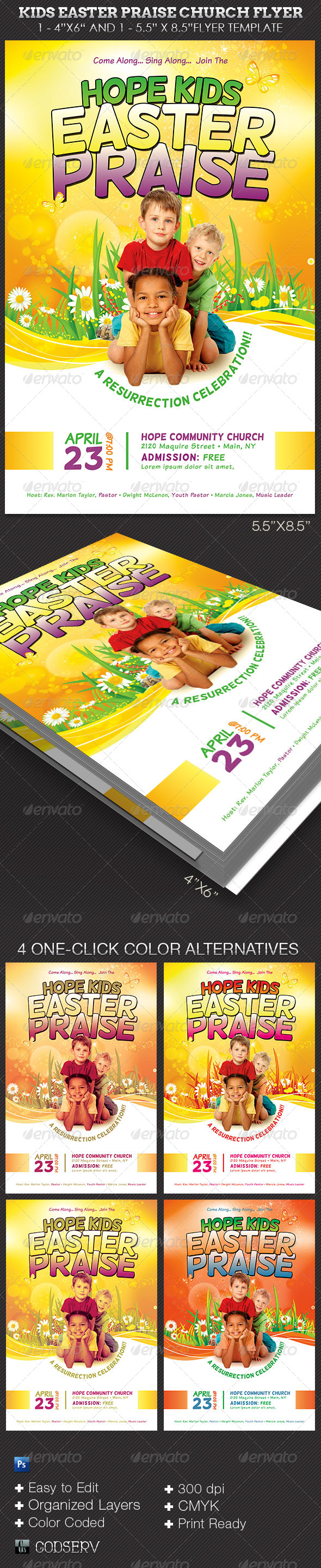 Blank Church Flyers Easter Church Flyers Templates