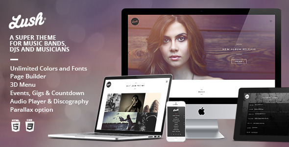 01 banner.  large preview - Lush - Music Band & Musician WordPress Theme