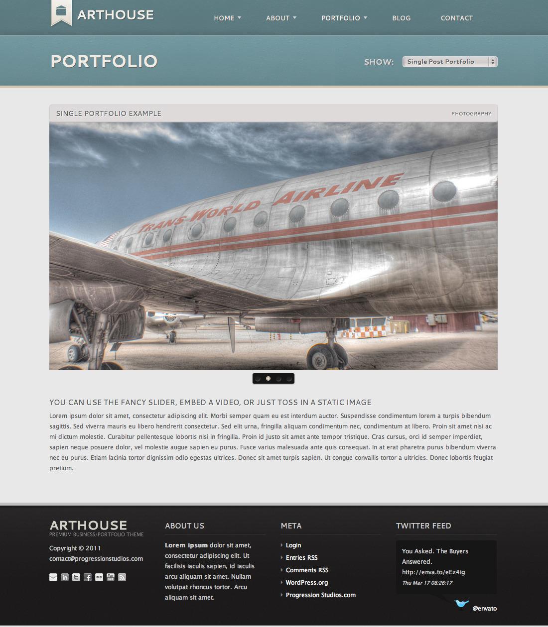 Arthouse - Premium Business & Portfolio Template