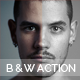 B & W Action Template - GraphicRiver Item for Sale