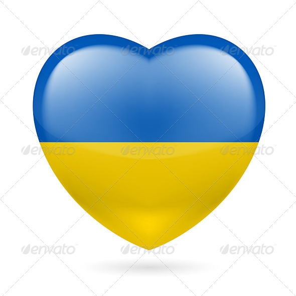 Heart Icon of Ukraine