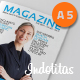 A5 InDesign Magazine Template - GraphicRiver Item for Sale