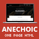 Anechoic | One Page Multipurpose Site Template - ThemeForest Item for Sale