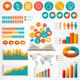 Big Set of Flat Education Infographics Elements