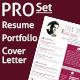 Resume, Portfolio & Cover Letter Templates - GraphicRiver Item for Sale