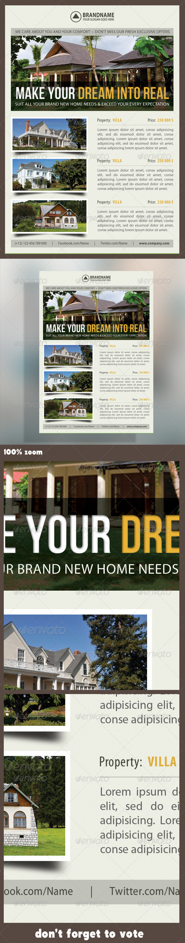 Real Estate Corporate Flyer 06 - Commerce Flyers