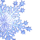 50 Pack of 3D Snowflakes