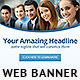Corporate Web Banner Design Template 35 - GraphicRiver Item for Sale