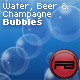 Realistic Bubbles (Beer, champagne and water) with depth and blur effect - ActiveDen Item for Sale