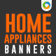 Banners for Electronics & Home Appliances - GraphicRiver Item for Sale