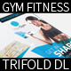Gym and Fitness trifold flyer - GraphicRiver Item for Sale