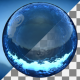 Water Sphere With Rain Drops - VideoHive Item for Sale