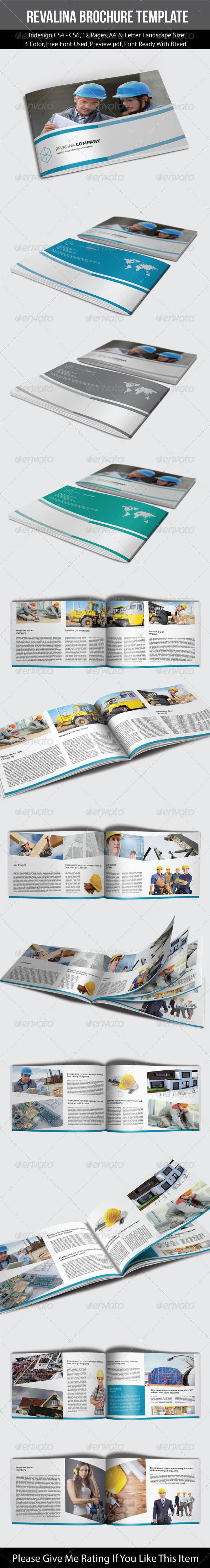 Revalina Corporate Brochure Template