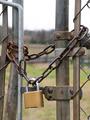 Locked gate - PhotoDune Item for Sale