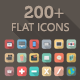 Radial Icon Set - Sweet Flat Icons - GraphicRiver Item for Sale