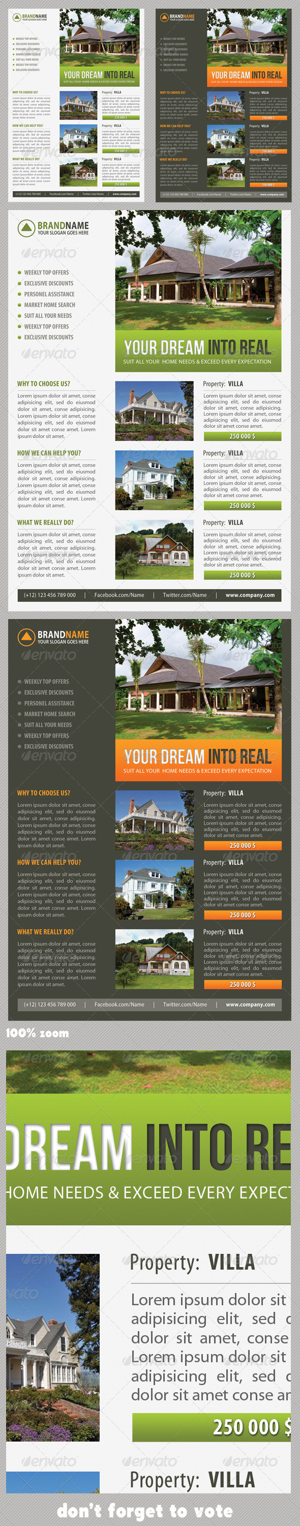 Real Estate Corporate Flyer 08 - Commerce Flyers