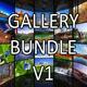 Photo Gallery Mock-Up Bundle V1 - GraphicRiver Item for Sale